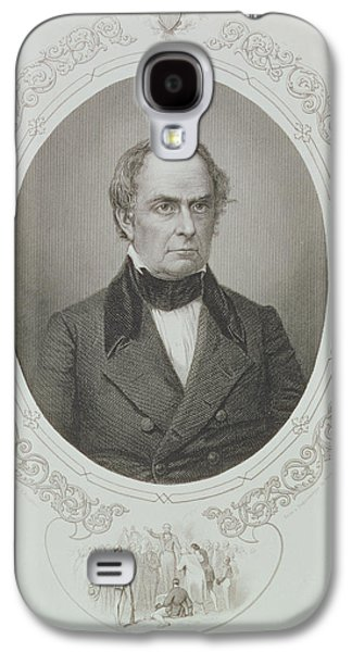 Daniel Webster, From The History Of The United States, Vol. II, By Charles Mackay, Engraved By T Galaxy S4 Case by Mathew Brady