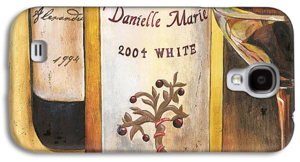 Wine-glass Paintings Galaxy S4 Cases - Danielle Marie 2004 Galaxy S4 Case by Debbie DeWitt