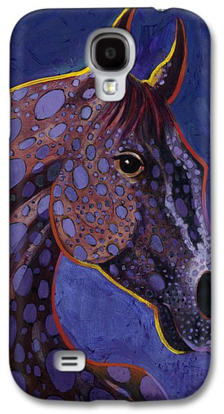 Surrealistic Paintings Galaxy S4 Cases - Dapple Grey Galaxy S4 Case by Bob Coonts