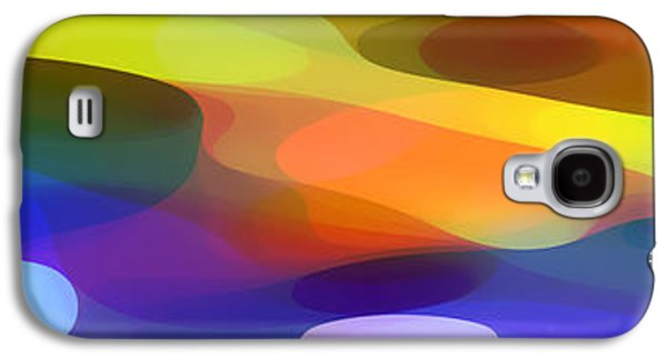 Abstract Nature Galaxy S4 Cases - Dappled Light Panoramic 1 Galaxy S4 Case by Amy Vangsgard