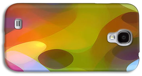 Nature Abstract Galaxy S4 Cases - Dappled Light Panoramic 2 Galaxy S4 Case by Amy Vangsgard