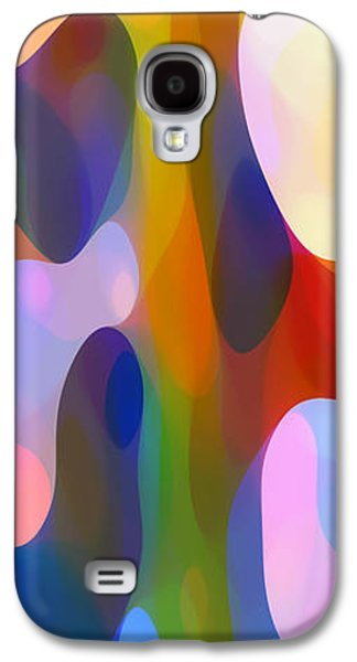 Recently Sold -  - Abstract Nature Galaxy S4 Cases - Dappled Light Panoramic Vertical 2 Galaxy S4 Case by Amy Vangsgard