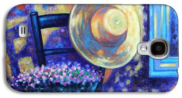 Landscape Acrylic Prints Paintings Galaxy S4 Cases - Dappled Suntrap  Galaxy S4 Case by John  Nolan