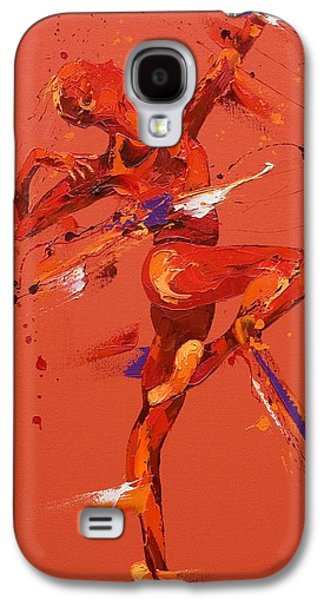 Ballet Dancers Paintings Galaxy S4 Cases - Dare  Galaxy S4 Case by Penny Warden