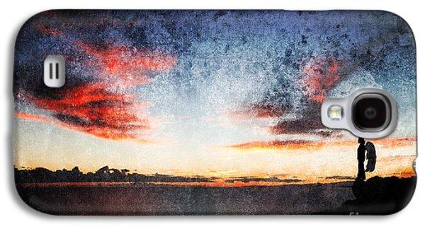 Night Angel Galaxy S4 Cases - Dark Angel Galaxy S4 Case by Stylianos Kleanthous