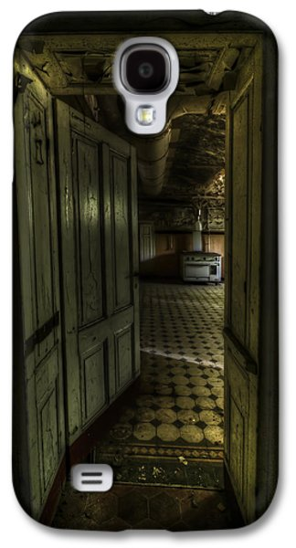 Creepy Digital Galaxy S4 Cases - Dark cooking Galaxy S4 Case by Nathan Wright