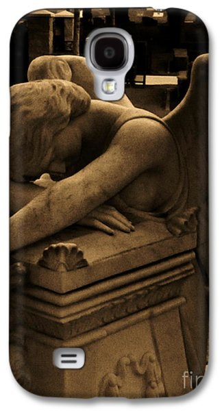 Usa Sculptures Galaxy S4 Cases - Dark Day of Sorrow Galaxy S4 Case by Nathan Little