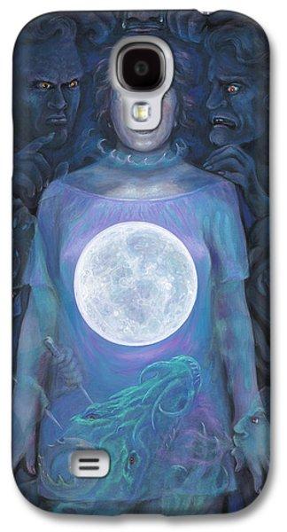 Inner Self Galaxy S4 Cases - Dark Night Galaxy S4 Case by Brenda Ferrimani