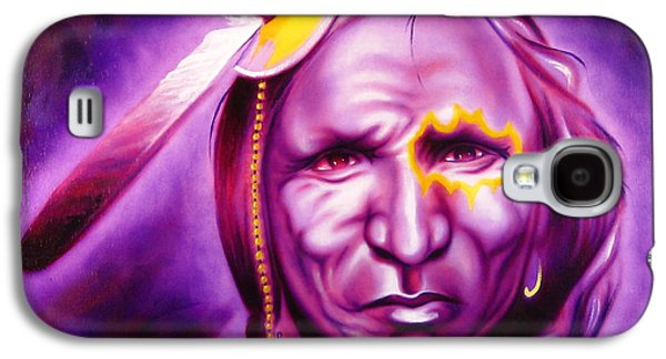 Brave Mixed Media Galaxy S4 Cases - Dark Night Galaxy S4 Case by Robert Martinez