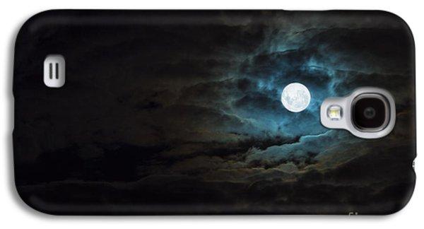 Moon Galaxy S4 Cases - Dark Rising Galaxy S4 Case by Andrew Paranavitana