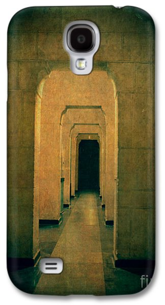 Creepy Galaxy S4 Cases - Dark Sinister Hallway Galaxy S4 Case by Edward Fielding