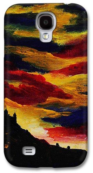 Red Jewelry Galaxy S4 Cases - Dark Times Galaxy S4 Case by Anastasiya Malakhova