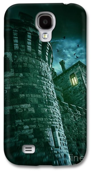 Ghostly Galaxy S4 Cases - Dark Tower Galaxy S4 Case by Carlos Caetano