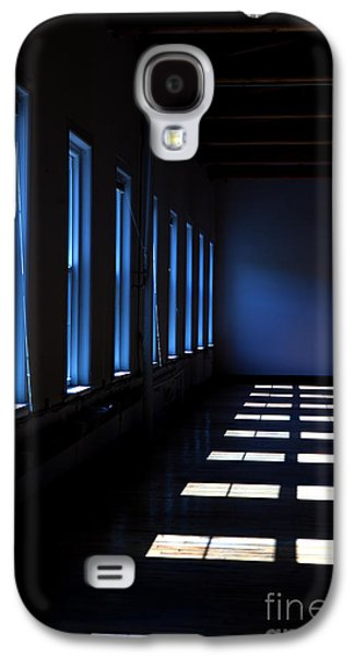 Warehouse Galaxy S4 Cases - Dark Windowed Room Galaxy S4 Case by Diane Diederich
