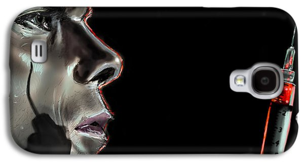 Michael Digital Galaxy S4 Cases - Darkly Dreaming Dexter Galaxy S4 Case by Vinny John Usuriello