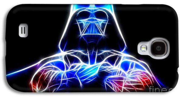 Storm Mixed Media Galaxy S4 Cases - Darth Vader - The Force Be With You Galaxy S4 Case by Pamela Johnson