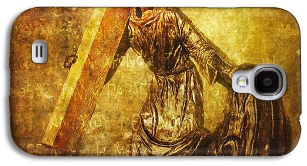 Lianne_schneider Via Dolorosa Print Digital Art Galaxy S4 Cases - Daughters of Jerusalem Via Dolorosa 8 Galaxy S4 Case by Lianne Schneider