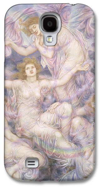 Misty Prints Galaxy S4 Cases - Daughters of the Mist Galaxy S4 Case by Evelyn De Morgan