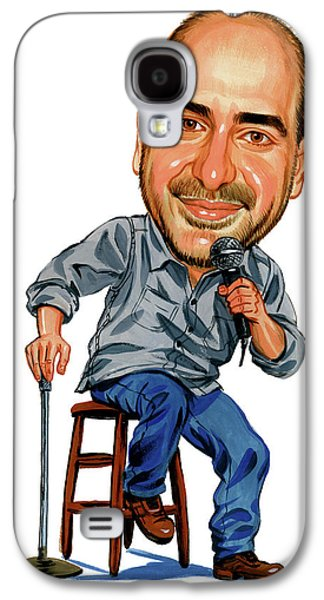 Person Galaxy S4 Cases - Dave Attell Galaxy S4 Case by Art