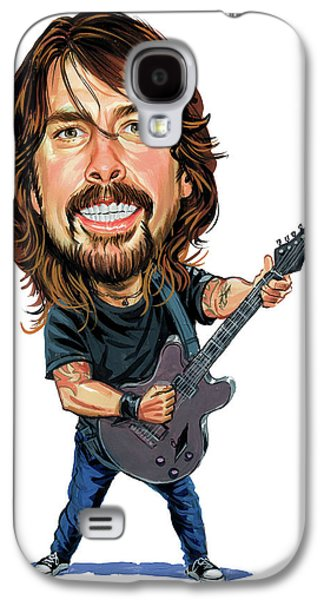 Fighters Galaxy S4 Cases - Dave Grohl Galaxy S4 Case by Art