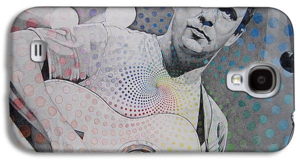 Dave Galaxy S4 Cases - Dave Matthews All the Colors Mix Together Galaxy S4 Case by Joshua Morton