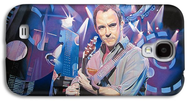 Light Drawings Galaxy S4 Cases - Dave Matthews and 2007 Lights Galaxy S4 Case by Joshua Morton