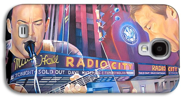 Bands Galaxy S4 Cases - Dave matthews and Tim Reynolds at Radio City Galaxy S4 Case by Joshua Morton