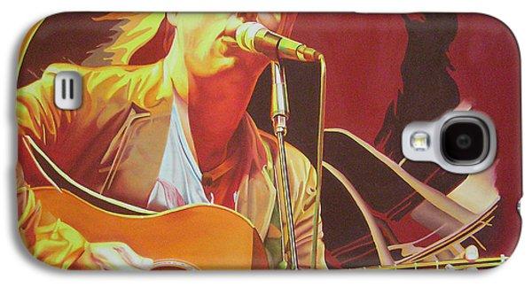 The Dave Matthews Band Paintings Galaxy S4 Cases - Dave matthews at Vegoose Galaxy S4 Case by Joshua Morton