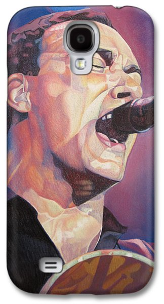 Lead Galaxy S4 Cases - Dave Matthews Colorful Full Band Series Galaxy S4 Case by Joshua Morton