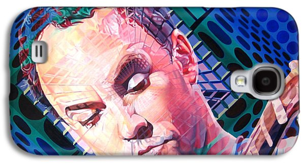 The Dave Matthews Band Paintings Galaxy S4 Cases - Dave Matthews Open Up My Head Galaxy S4 Case by Joshua Morton