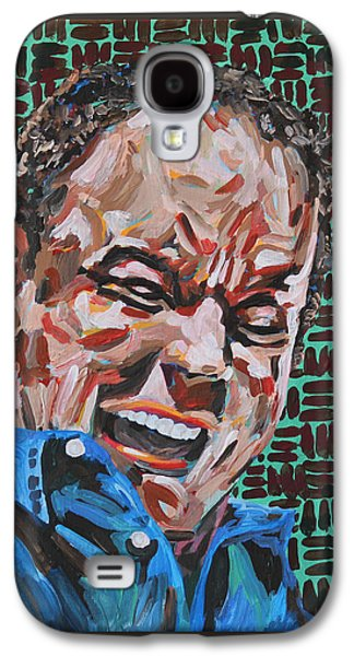 The Dave Matthews Band Paintings Galaxy S4 Cases - Dave Matthews Portrait Galaxy S4 Case by Robert Yaeger