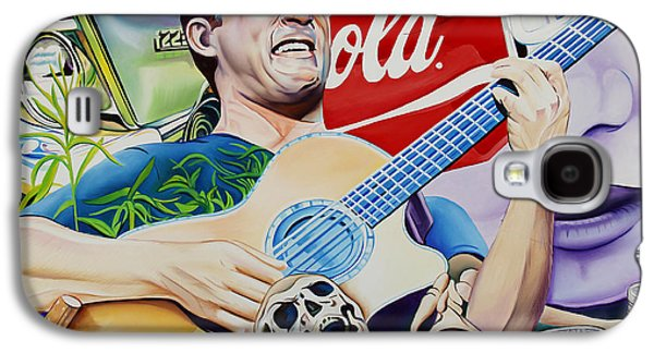 The Dave Matthews Band Paintings Galaxy S4 Cases - Dave Matthews Seek Up Galaxy S4 Case by Joshua Morton