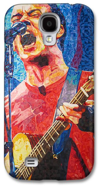 Bands Galaxy S4 Cases - Dave Matthews Squared Galaxy S4 Case by Joshua Morton