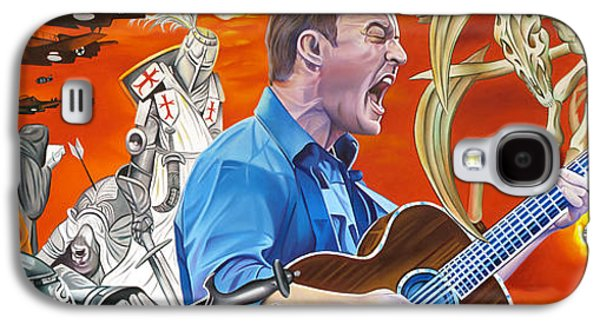 The Dave Matthews Band Paintings Galaxy S4 Cases - Dave Matthews The Last Stop Galaxy S4 Case by Joshua Morton