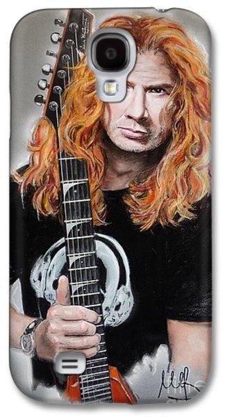 Metallica Galaxy S4 Cases - Dave Mustaine Galaxy S4 Case by Melanie D