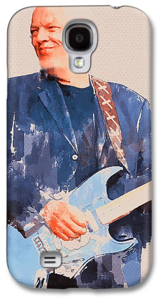 Recently Sold -  - Abstract Nature Galaxy S4 Cases - David Gilmour Smile Galaxy S4 Case by Yury Malkov