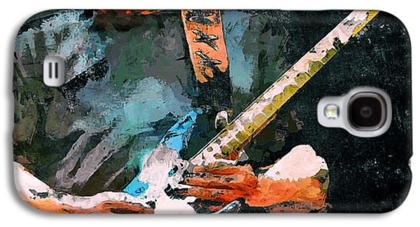 Recently Sold -  - Colorful Abstract Galaxy S4 Cases - David Gilmour Song Galaxy S4 Case by Yury Malkov