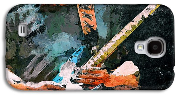 Recently Sold -  - Nature Abstracts Galaxy S4 Cases - David Gilmour Song Galaxy S4 Case by Yury Malkov