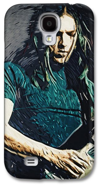 Orb* Galaxy S4 Cases - David Gilmour Galaxy S4 Case by Taylan Soyturk