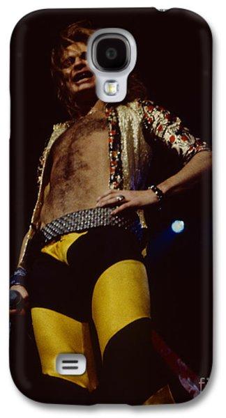 Van Halen Galaxy S4 Cases - David Lee Roth - Van Halen at the Oakland Coliseum 12-2-1978 Rare Unreleased Galaxy S4 Case by Daniel Larsen