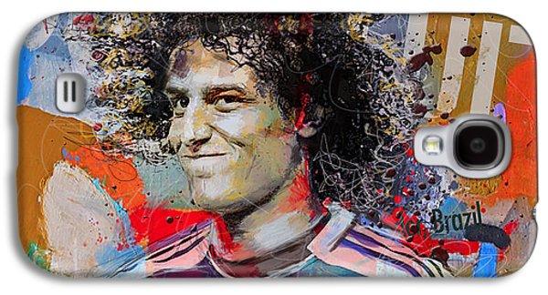 David Luiz Galaxy S4 Case by Corporate Art Task Force