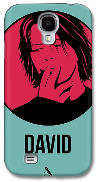 Singer Mixed Media Galaxy S4 Cases - David Poster 3 Galaxy S4 Case by Naxart Studio