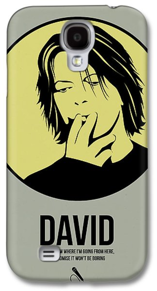 Singer Mixed Media Galaxy S4 Cases - David Poster 4 Galaxy S4 Case by Naxart Studio