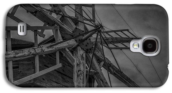 Machinery Galaxy S4 Cases - Davidson Windmill Galaxy S4 Case by Paul Freidlund