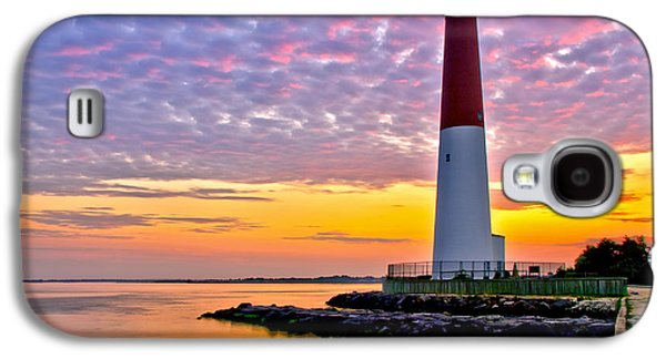 Waterscape Galaxy S4 Cases - Dawn at Barnegat Lighthouse Galaxy S4 Case by Mark Miller