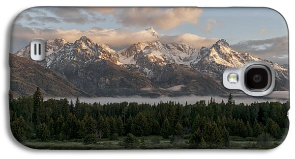 Landscapes Photographs Galaxy S4 Cases - Dawn At Grand Teton National Park Galaxy S4 Case by Brian Harig