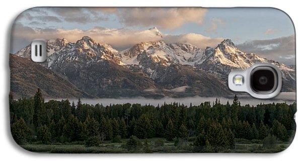 Dawn At Grand Teton National Park Galaxy S4 Case by Brian Harig