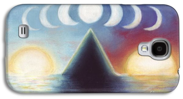 Dreamscape Pastels Galaxy S4 Cases - Dawn Dusk and In-Between Galaxy S4 Case by Samantha Geernaert