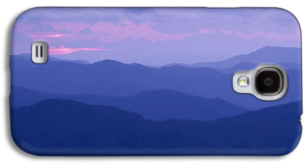 Tn Galaxy S4 Cases - Dawn Great Smoky Mountains National Galaxy S4 Case by Panoramic Images