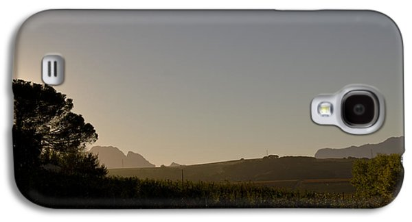Stellenbosch Galaxy S4 Cases - Dawn in Cape Town Galaxy S4 Case by John Stuart Webbstock